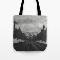 December Road Trip In Th… Tote Bag