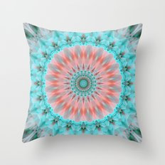 Mandala Tender Soul Throw Pillow