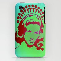 iPhone 3Gs & iPhone 3G Cases featuring Bacall Beach Icon by Jack Graves III