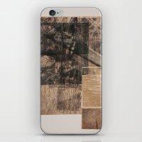 WOOD/PAPER iPhone & iPod Skin