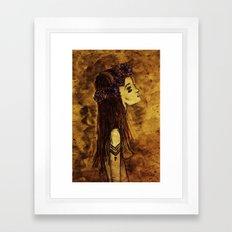 Rosehorn. Framed Art Print