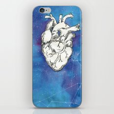 My heart in the cosmos iPhone & iPod Skin