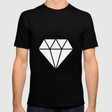 #10 Diamond SMALL Mens Fitted Tee Black
