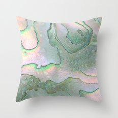Shell Texture Throw Pillow