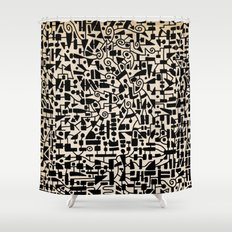 - micro - Shower Curtain