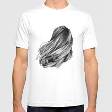 hair Mens Fitted Tee White SMALL