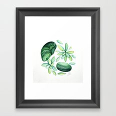 Malachite Framed Art Print