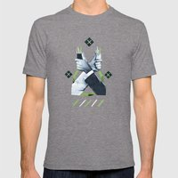 Service Toothpicks Mens Fitted Tee Tri-Grey SMALL
