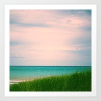 The Sea, The Sea Art Print