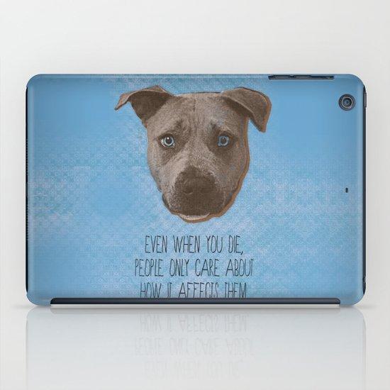 Pit Bull Print iPad Case