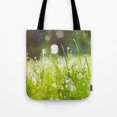 grassy morning Tote Bag