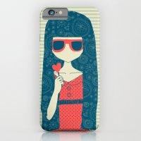 iPhone & iPod Case featuring Lollipop girl by Berreca