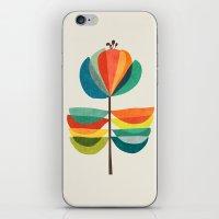 Whimsical Bloom iPhone & iPod Skin