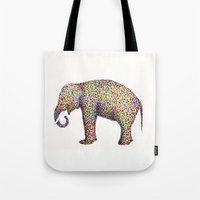elephant color Tote Bag