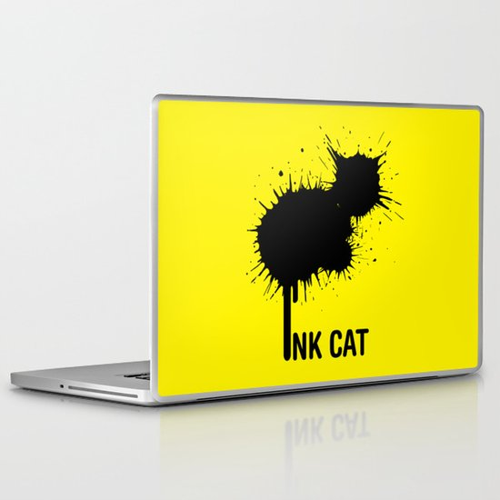 INK CAT Laptop & iPad Skin