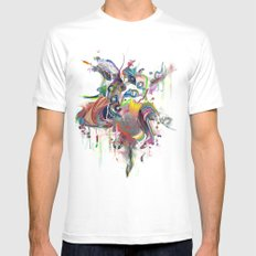 Etilazh Mens Fitted Tee White SMALL