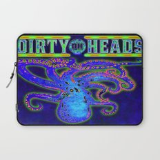 Dirty Heads Octopus  Trippy Psychedelic Character Design by CAP Laptop Sleeve