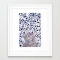 Seeing Diamonds Framed Art Print