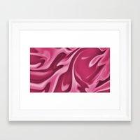 Burgundy Framed Art Print