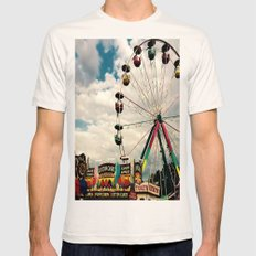 Crawfish Festival, Breau… Mens Fitted Tee Natural SMALL