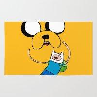 Adventure Time - FAN ART Rug
