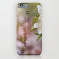 iPhone & iPod Case featuring music of Earth  by Julia Kovtunyak