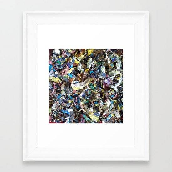 DRIED PAINT MASTERPIECES 2 Framed Art Print