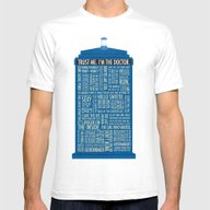T-shirt featuring Doctor Who  by Luke Eckstein