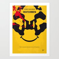 No599 My Watch Men Minim… Art Print
