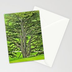 Old English Tree 1 Stationery Cards