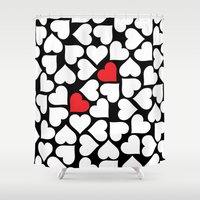 MPENZI ... Love Is In Th… Shower Curtain