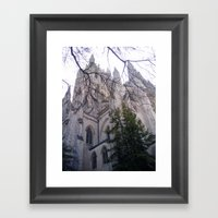 National Cathedral Framed Art Print
