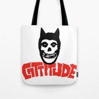 Cattitude Tote Bag