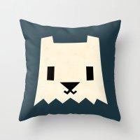 Yeti Throw Pillow