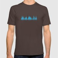 T-shirt featuring Blue Graphic Equalizer by PLdesign
