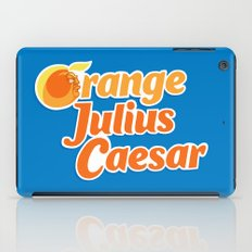 Orange Julius Caesar iPad Case