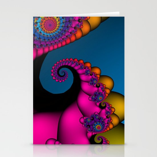 polychromatic dreams Stationery Card