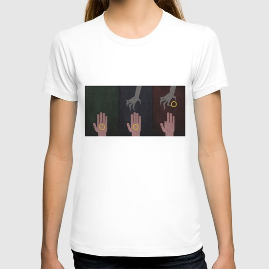 Lord of the Rings Minimalist Posters: Trilogy T-shirt