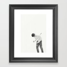 It Hurts Instead. Framed Art Print