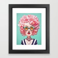Retro Return Framed Art Print