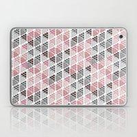 Diamond Floral Pattern Laptop & iPad Skin