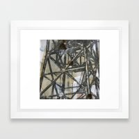 Tower on mylar  Framed Art Print