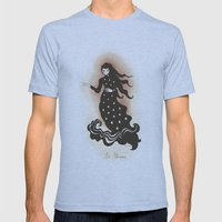 La Llorona Mens Fitted Tee Athletic Blue SMALL