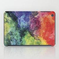 Rainbow Tie Dye Watercol… iPad Case