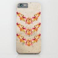 Floral Bat iPhone 6 Slim Case