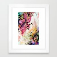 Flowerz Framed Art Print