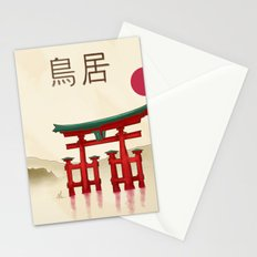 Torii Gate - Painting Stationery Cards
