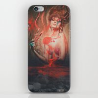 Red Mist iPhone & iPod Skin