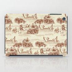 Toile de jouy Swan iPad Case