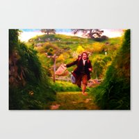 Bilbo's Adventure Begins… Canvas Print